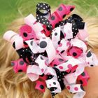 Hair bow how to from Hobby Lobby - need to make some for the girls!