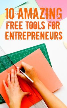 We are so lucky to have so many free resources available for entrepreneurs! Click through to find my 10+ favorites.
