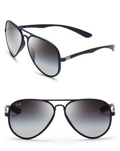 Ray-Ban Thermoplastic Aviator Sunglasses - All Sunglasses - Sunglasses - Jewelry  Accessories - Bloomingdales
