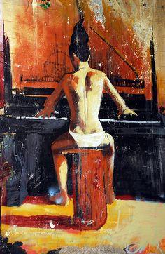 El niño de las pinturas, Granada