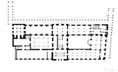 EU Mies Award 2011 Winner :: Neues Museum - David Chipperfield Architects - Berlin Germany - Floor plan level 1
