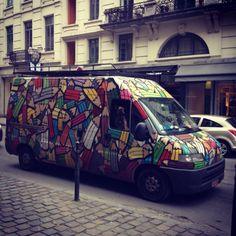 Pencil truck - Brussels