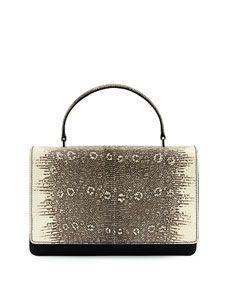 f855464bb6 Prada Tessuto   Lucertola Top-Handle Bag Replica Handbags