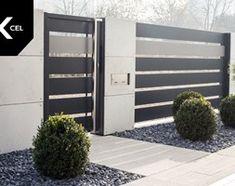 Aranżacje wnętrz - Ogród: Shades of Grey. Nowoczesne ogrodzenie Xcel: Horizon Massive + Rockina Cubero - Ogród, styl nowoczesny - XCEL Ogrodzenia. Przeglądaj, dodawaj i zapisuj najlepsze zdjęcia, pomysły i inspiracje designerskie. W bazie mamy już prawie milion fotografii!