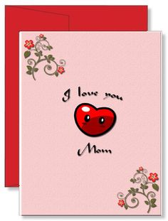 Personalized Birthday Greeting Card I Love You Mom Birthday Greeting Cards, Birthday Greetings, I Love You Mom, My Love, Personalized Greeting Cards, Your Message, Projects To Try, Messages, Ideas