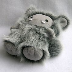 monster by stuffed silly