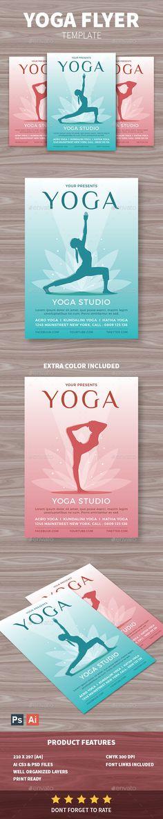Yoga Flyer Yoga, Flyers and Events - yoga flyer
