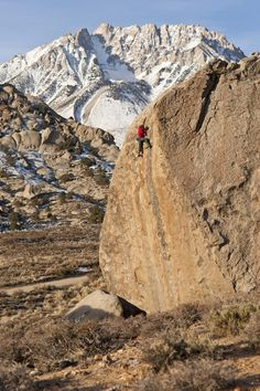 Bishop, CA- not only gorgeous scenery, but some of the best bouldering in the world!!