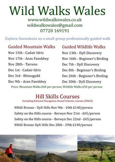 All of these walks are local to us at Cadair View Lodge. Check out our accommodation deals in December http://www.cadairviewlodge.co.uk/Special%20Offers%20On%20Holidays.htm #Snowdonia #accommodation #walks