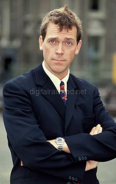A young Hugh Laurie
