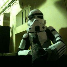Storm Troopers en carrer progres en las festes de gràcia 2012 // #barna #gràcia #barcelona
