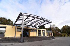 Brazley Centre entrance canopy