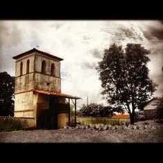 Campanario #bolivia #misiones #church #iglesia #clouds #instagramers #Padgram