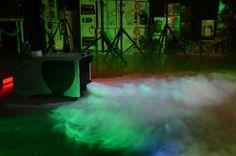 W roli głównej wytwornica dymu ciężkiego Low Fog Ibiza Light D-1000