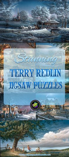 Terry Redlin Puzzles are extremely popular. Terry Redlin is one of America's most loved and widely collected Americana and nature painters. If you're a fan of Terry Redlin's art you'll LOVE these jigsaw puzzles. Hobbies For Couples, New Hobbies, Difficult Jigsaw Puzzles, Terry Redlin, Maze Game, Canadian Winter, Model Hobbies, Puzzle Art, Country Art