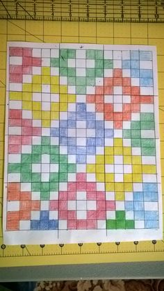 triangles & squares: Finally A Friday Finish!