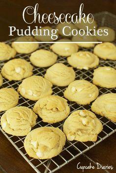 Cheesecake Pudding Cookies on MyRecipeMagic.com