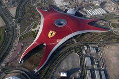 Ferrari World Abu Dhabi. New rides in 2016