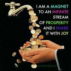 Be a magnet and share with joy!!