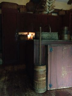 early butter churn...today's find at Brimfield from Blue Dog Antiques