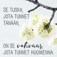 """Aito kasvu on herkkää"" – 5 voimakuvaa henkisestä kasvusta Cigarette Quotes, Motivational Quotes, Inspirational Quotes, Something To Remember, Quotes About New Year, Truth Of Life, Life Words, Good Thoughts, Funny Texts"