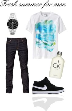 """Fresh summer for men - para Gabriel :)"" by variant on Polyvore"