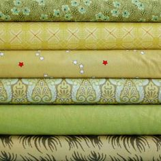 Green With Envy Custom Fabric Bundle by Warp & Weft | Exquisite Textiles