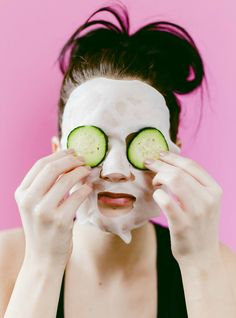 Make your own hydrating sheet masks!