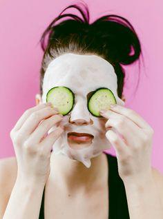 DIY Hydrating Sheet Mask- glycerin, rosewater, witch hazel, rosehip oil, squalane