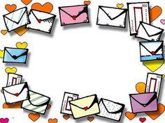 Maestros de Corazón: Bordes o marcos para notas y etiquetas