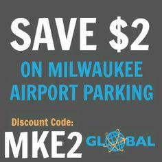 MKE Milwaukee Airport Parking Coupon