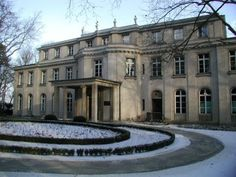 The House of the Wannsee Conference ... the place were is decided to kill the jews in a more mechanical way, result, the holocaust... it is hard to believe what men can do....!