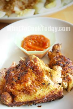 Ayam Penyet / Smashed Fried Chicken