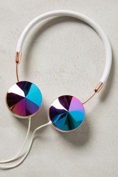 ON SALE #AnthoFave - Interchangeable Enamel Headphone Caps - anthropologie.com