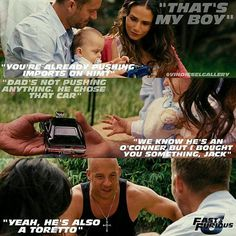 """Vin Diesel Stills - """"He chose that car"""" Scene. Iconic Movie Characters, Iconic Movies, Good Movies, Fast And Furious Cast, The Furious, Paul Walker Movies, Rip Paul Walker, Tv Quotes, Movie Quotes"""