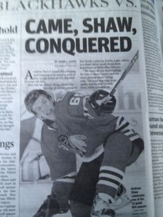 *swoon* I love me some Andrew Shaw