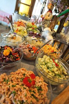 #Salatbuffet #Glocknerhof www.glocknerhof.at