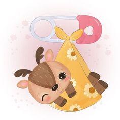 Panda Lindo, Sheep Illustration, Portrait Cartoon, Vector Photo, Reno, Animal Paintings, Cute Love, Clipart, Baby Animals