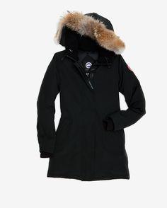 Canada Goose Victoria Parka: Black
