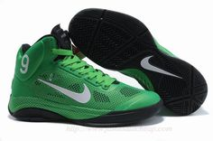 Nike Zoom Hyperfuse XDR Rajon Rondo PE Green Black Cheap For Sale No.9160