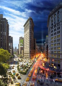 """Day to Night"" by Stephen Wilkes - New York"