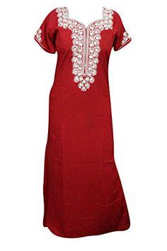 Mogul Interior Womens House Dress Kaftan Neck Embroidered... https://www.amazon.co.uk/dp/B01MU6U002/ref=cm_sw_r_pi_dp_x_v9hGybC00CTR4