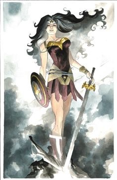 Wonder Woman by Mike McKone