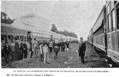 """""""El tren de los peregrinos del Oeste de la provincia, en la estación de Pergamino"""""""