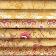 Printemps by 3 Sisters for Moda Fabrics Fat Quarter Bundle 6FQY 6 Fat Quarters #ModaFabrics
