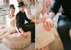 vintage elopement ideas | photo by Kate Romenesko | 100 Layer Cake