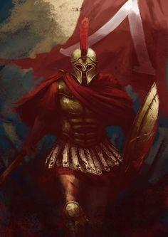 Spartan by Lutherniel.deviantart.com on @DeviantArt