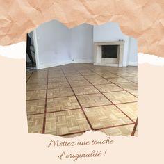 Vous souhaitez mettre votre intérieur en valeur ? Misez sur l'originalité ! Pose Parquet, Tile Floor, Flooring, Home Decor, Rennes, Homemade Home Decor, Wood Flooring, Floor, Decoration Home
