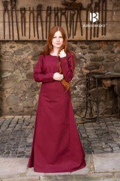 82f6dd50e0 Burgundy Viking Underdress Freya by Burgschneider Freya
