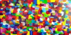 Original Huge Modern Acrylic Abstract Painting 48 x 24 on Etsy, £236.97